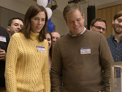 Matt Damon and Kristen Wiig Shrink Down to 5 Inches in 'Downsizing' Trailer