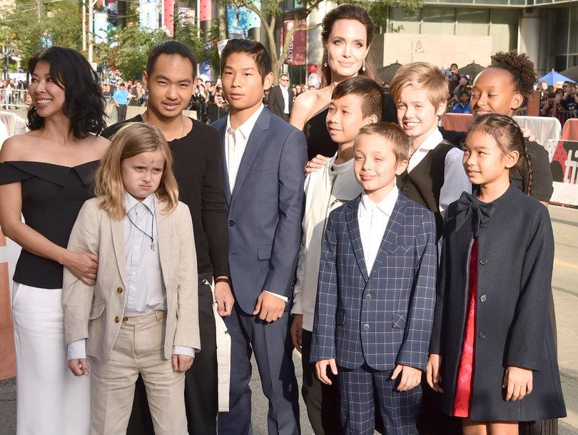 Angelina Jolie's Six Children Support Mom at Toronto Film Festival Premiere