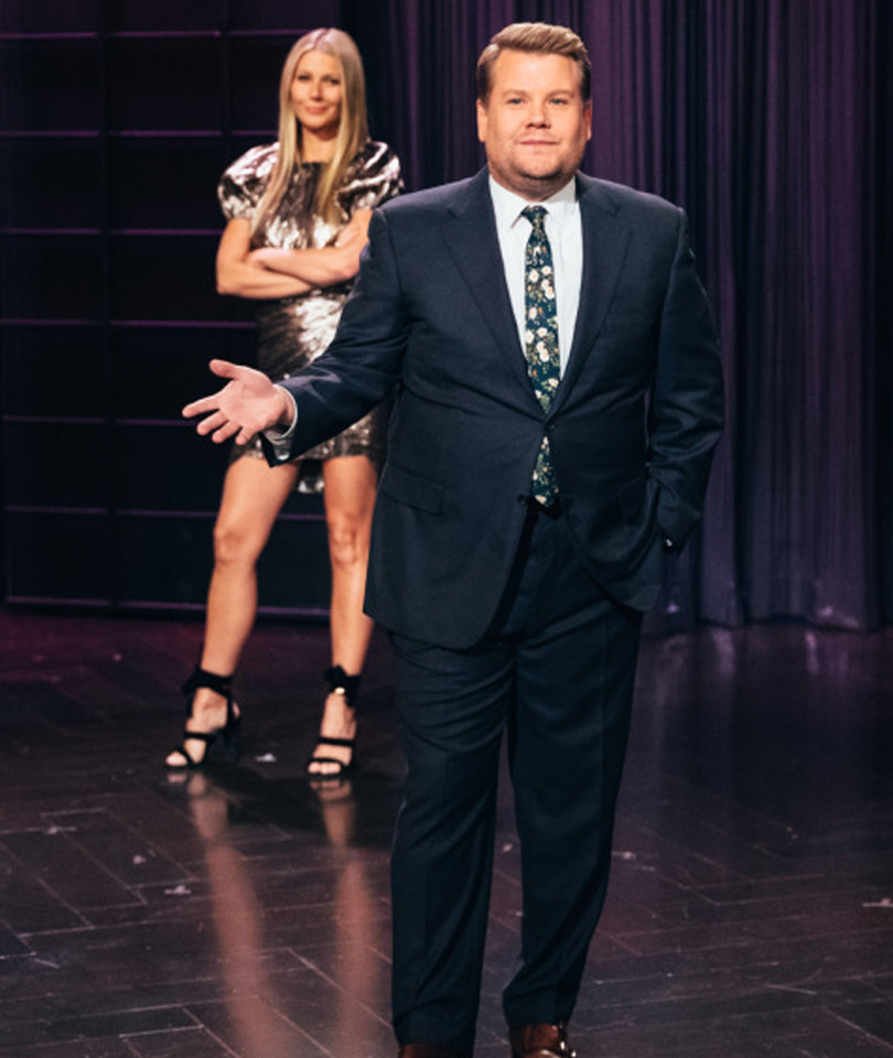 Gwyneth Paltrow Confronts James Corden While He's Bashing Goop as 'Poop'