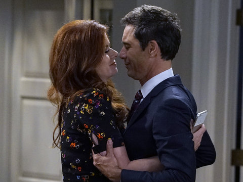 'Will & Grace' Stars Make Up Lyrics to Show's Theme Song on 'Tonight Show'