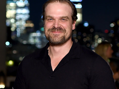 'Stranger Things' Star David Harbour Looks Nothing Like This In 'Hellboy' Photo