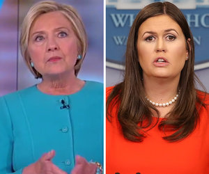 Clinton Fires Back at Sarah Huckabee Sanders for Calling Her Book 'Sad,'…