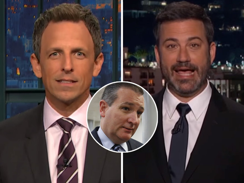 Late-Night TV Spanks Ted Cruz Hard for MILF Porn Fiasco: 'He's a Family Values Guy'