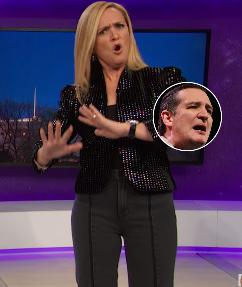 Sam Bee Mocks 'Texas Tugger' Ted Cruz for Porn Fiasco