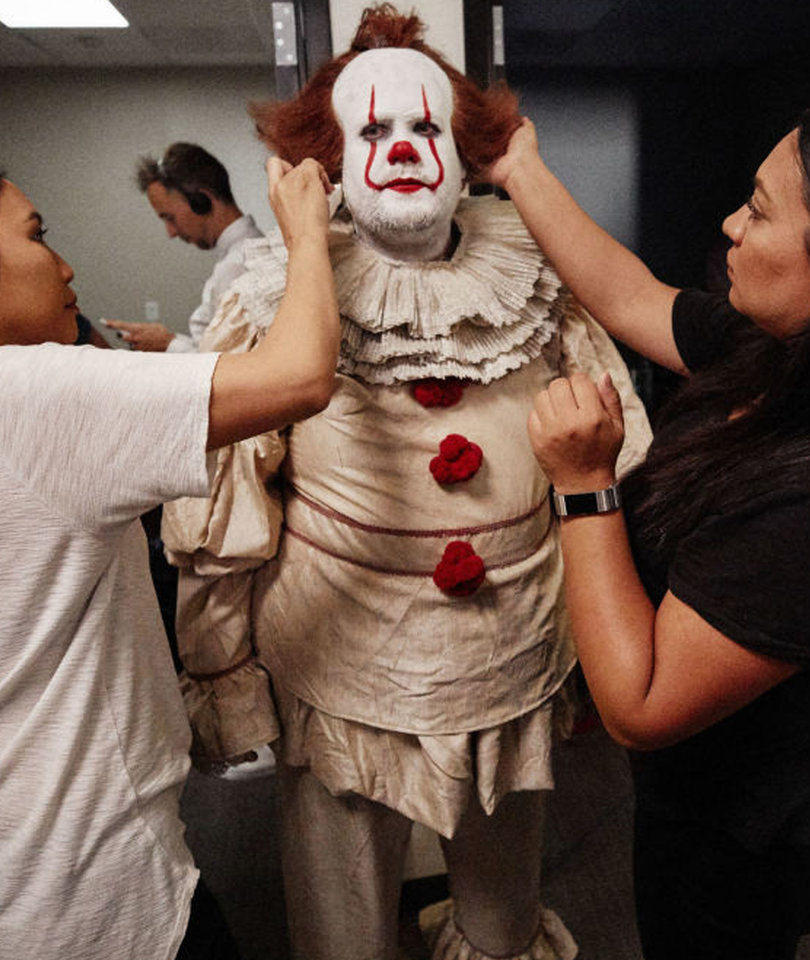 James Corden's Pennywise Is Creepy AF In 'IT' Parody