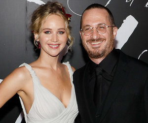 Lawrence and BF/Director Darren Aronofsky Arm-In-arm at 'mother!' Premiere