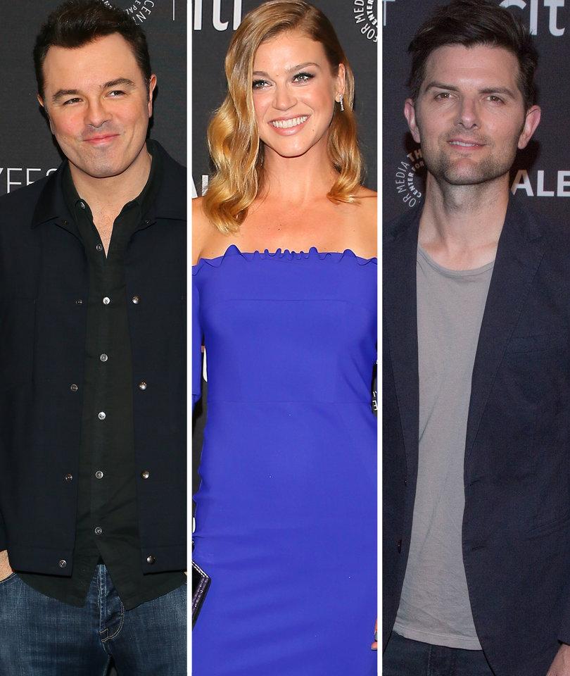 Seth Macfarlane, Adrianne Palicki Among Stars at Paley Fest
