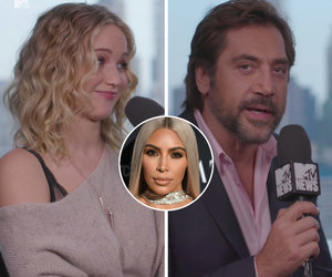 Javier Bardem Doesn't Get Jennifer Lawrence's Kardashian Obsession