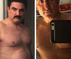 'Shahs' Star Reza Farahan Reveals 43-Pound Weight Loss With Shirtless Photo