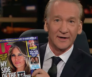 '25 Melania Trump Things You Don't Know Feature' Gets the Bill Maher Treatment