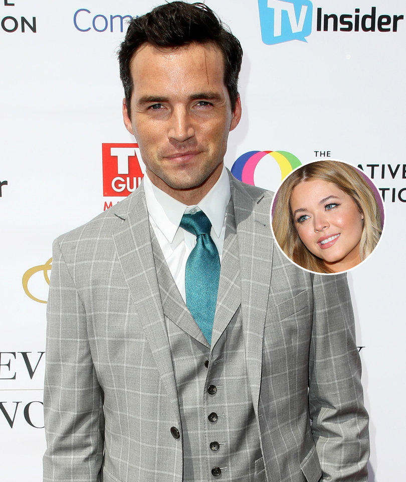 'PLL' Ian Harding Talks Co-Star Sasha Pieterse 'DWTS' Debut
