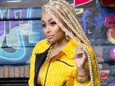 Blac Chyna Rocks Braids for Days at VH1's Hip Hop Honors