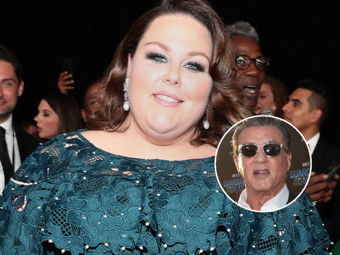 The Advice Chrissy Metz Got From Sylvester Stallone on 'This Is Us' Set