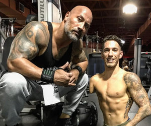 The Story Behind Dwayne 'The Rock' Johnson and Bodybuilder Nick Santonastasso's Inspiring…