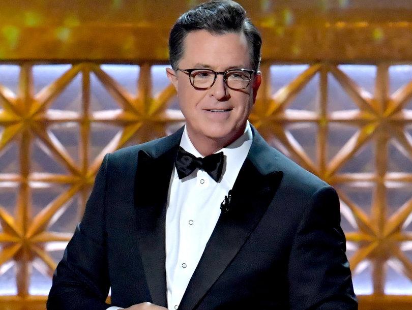 Stephen Colbert's Best (and Worst) Emmys Jokes
