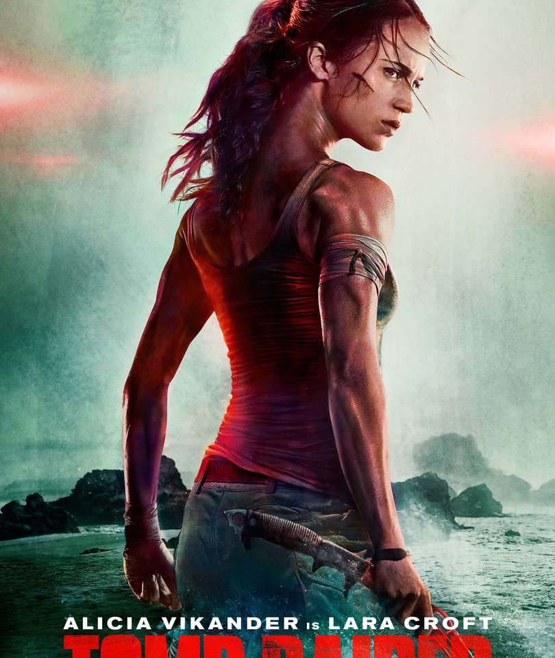 'Tomb Raider' Drops First Footage and Poster And Everyone Is Obsessed With Alicia Vikander's Neck