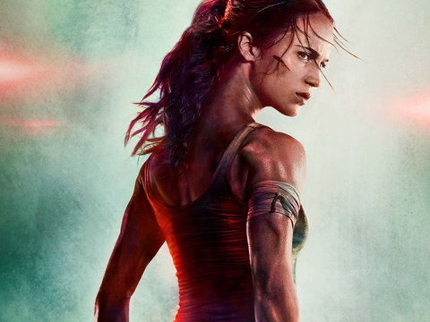 'Tomb Raider' First Footage and Poster Has Everyone Obsessed With Her Neck