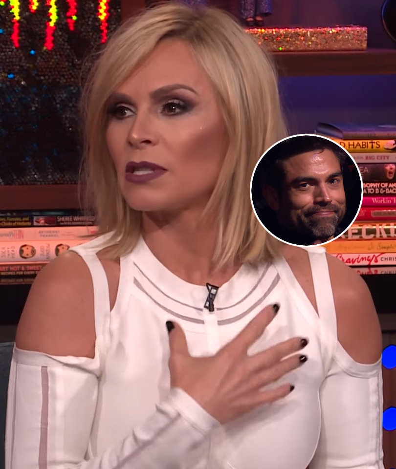 Tamra Judge Rips Into 'Disgusting' Rumor Husband Is Gay on 'WWHL'