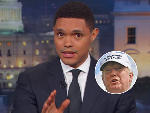 Trevor Noah Doesn't Think Trump's Dumb Tweets Are 'Worst Thing in the World'