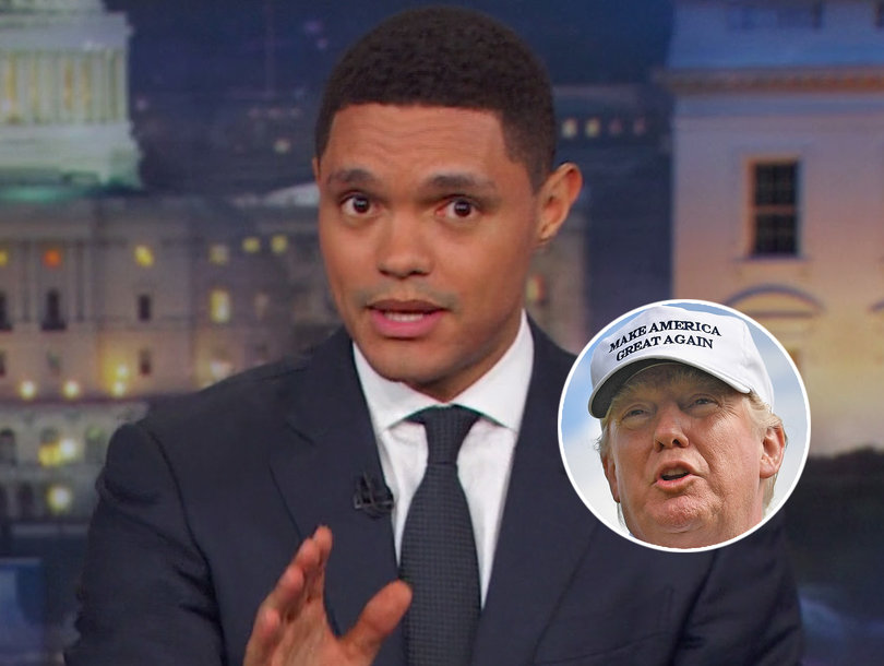 Why Trevor Noah Thinks Trump's Awful Tweets Aren't the 'Worst Thing in the World'