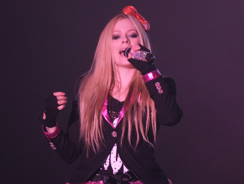 Why Avril Lavigne Has Been Declared the 'Most Dangerous Celebrity' on the Internet