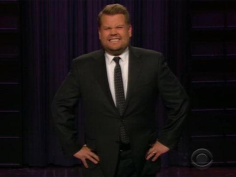 Even Corden's 'Disappointed' In Himself for Kissing Sean Spicer at the Emmys