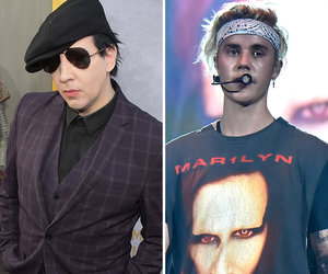 Here's What Bieber Supposedly Texted Manson After Rocker Called Him a 'Piece of…