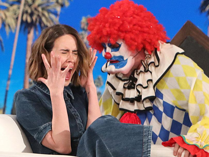 Watch Ellen Scare 'AHS: Cult' Star Sarah Paulson a Stunning Three Times