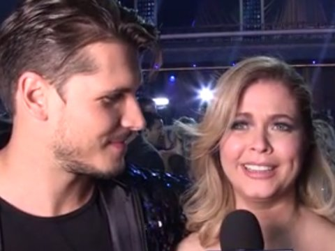 Sasha Pieterse Thinks Co-Star Ian Harding's 'DWTS' Suggestion Is Way Off