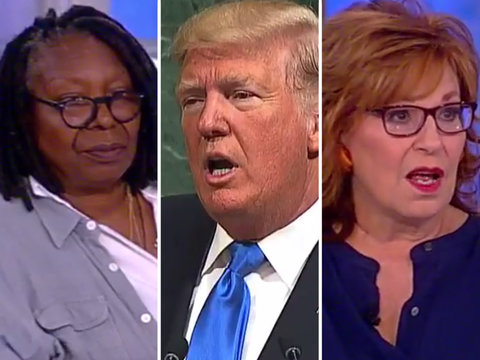 'The View' Blasts Trump for Threatening to 'Destroy North Korea,' 'Rocket Man'
