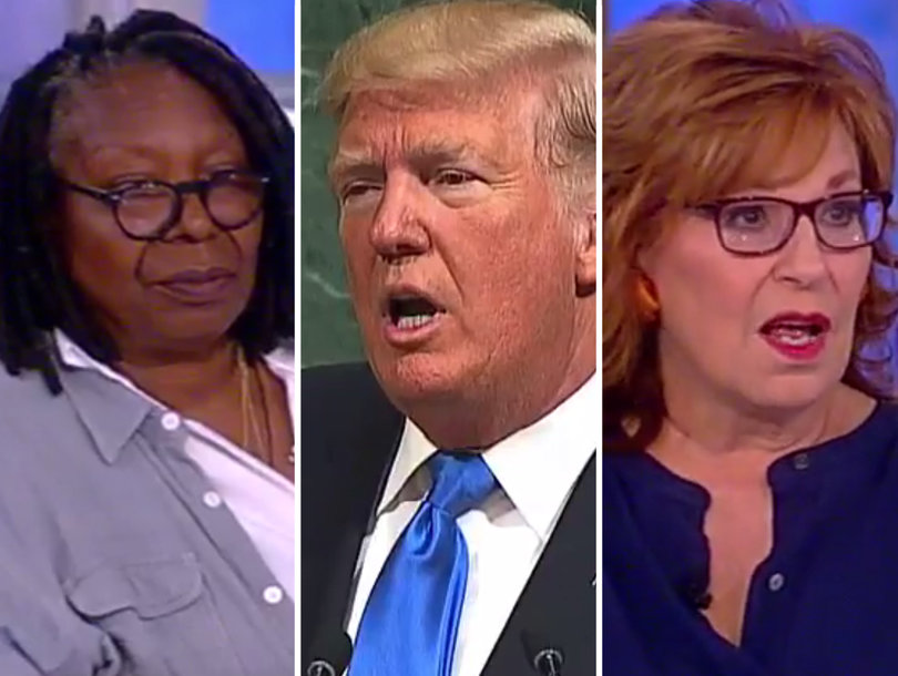 'The View' Blasts Trump for Threatening to 'Destroy North Korea' and Its 'Rocket Man' Dictator in UN Speech