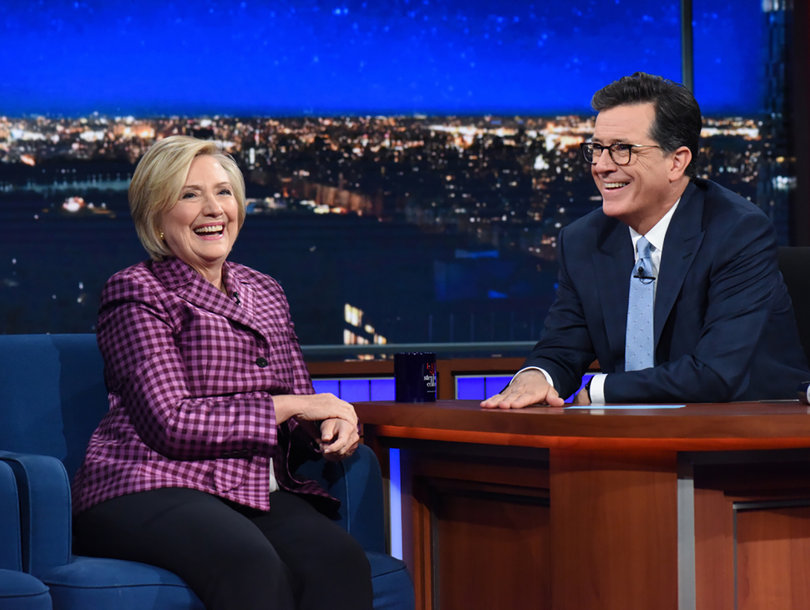 Hillary Clinton's 'Not Going Anywhere' and Everything Else We Learned From Her Colbert Interview