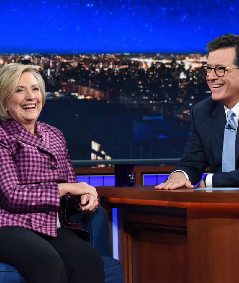 Everything We Learned From Hillary Clinton's Colbert Interview