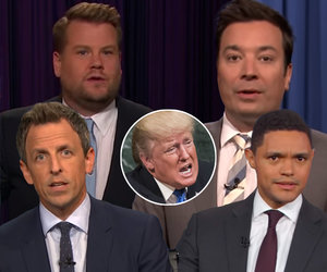 Late-Night Stars Baffled by Trump's 'Rocket Man' Nickname for Kim Jong-un