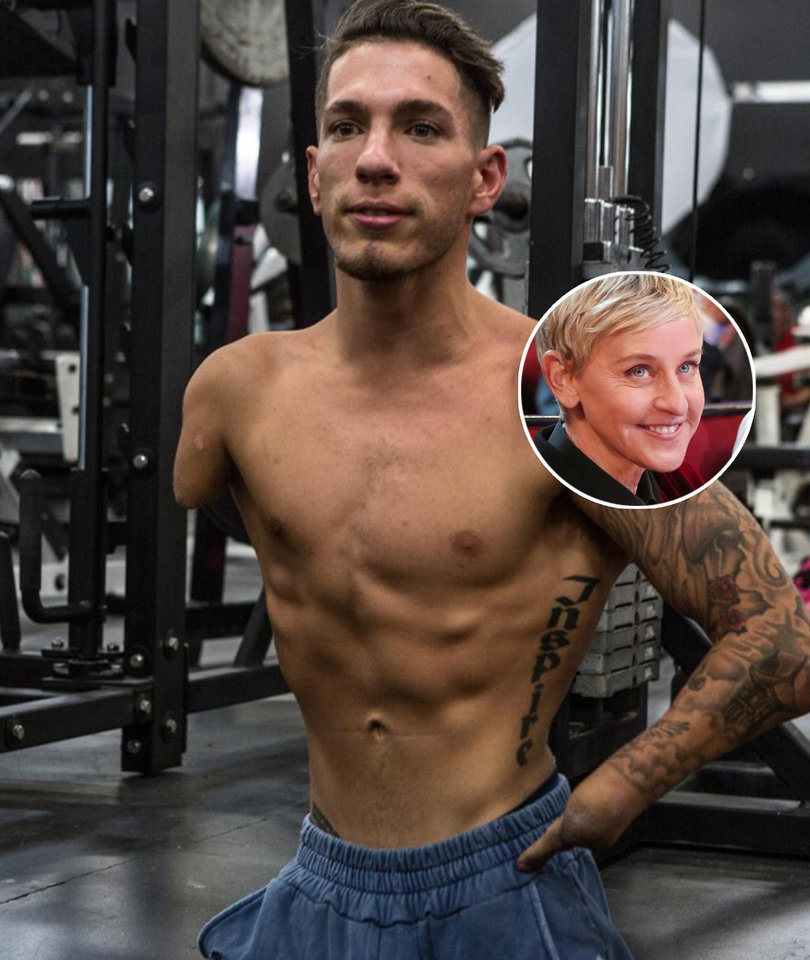 Why Bodybuilder Nick Santonastasso Really Wants to Tell His Story on Ellen