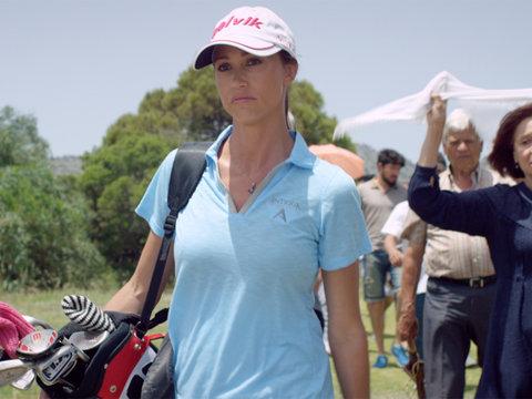 Shannon Elizabeth and John O'Hurley Battle It Out 'Swing Away' Trailer