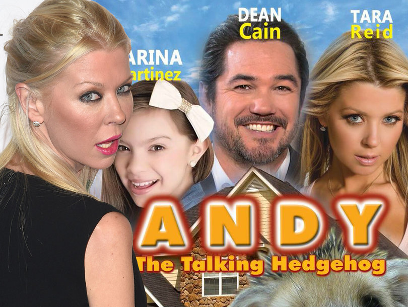 Yes, Tara Reid's 'Hedgehog' Movie Is Real and She Thinks the Poster Is a Disaster, Too (Exclusive)
