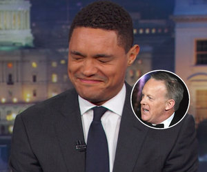 Trevor Noah Thinks It's Funny AF Sean Spicer Can't Find a New Job