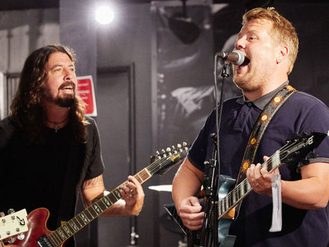 James Corden and Foo Fighters Just Rick Rolled Everyone During 'Carpool Karaoke'