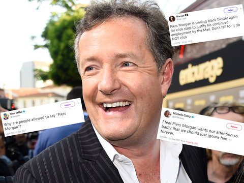 Twitter Brutalizes Piers Morgan For Saying White Girls Should Be Allowed to Use N-Word