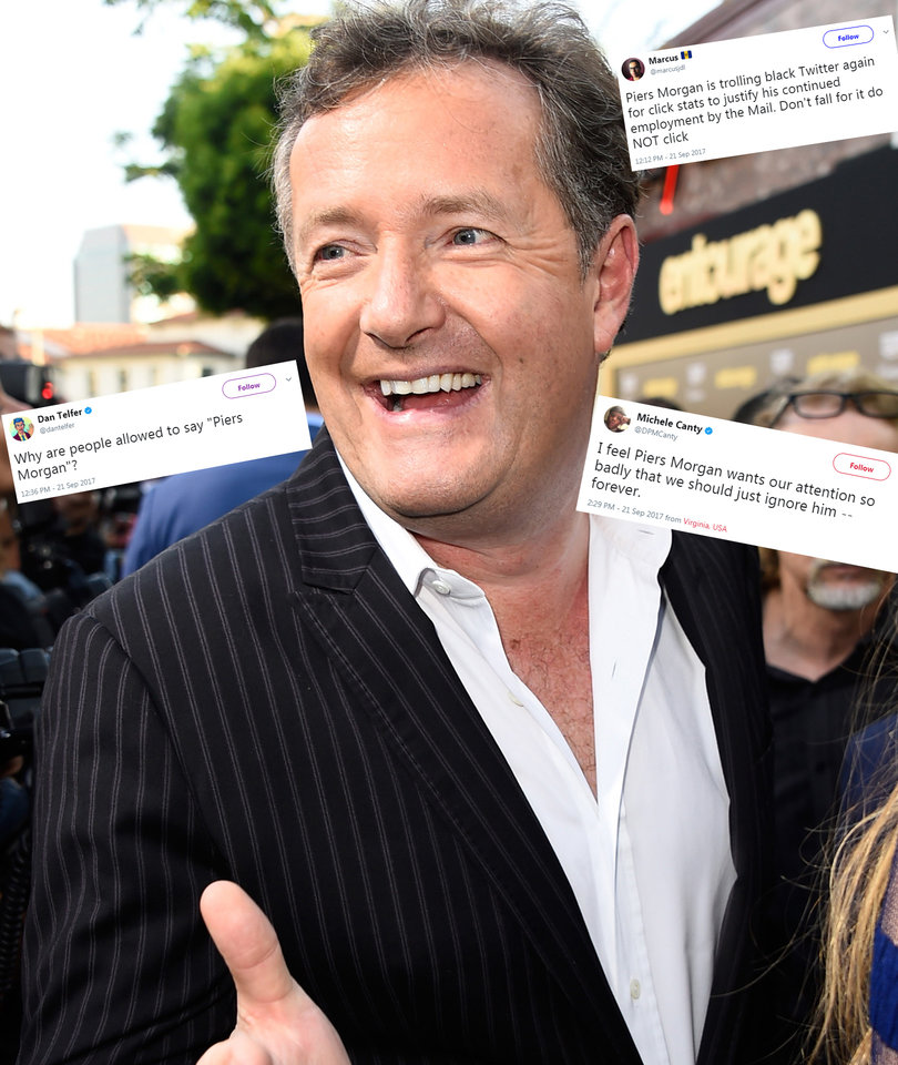 Twitter Brutalizes Piers Morgan For Saying White Girls Should Be Allowed to Use…