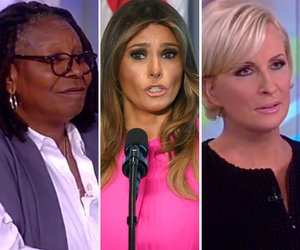 Whoopi, Brzezinski Blast Hypocrisy of Melania's Anti-Bullying Speech