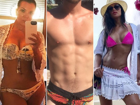 15 Celebrity Beach Bods You Have to See from Summer 2017