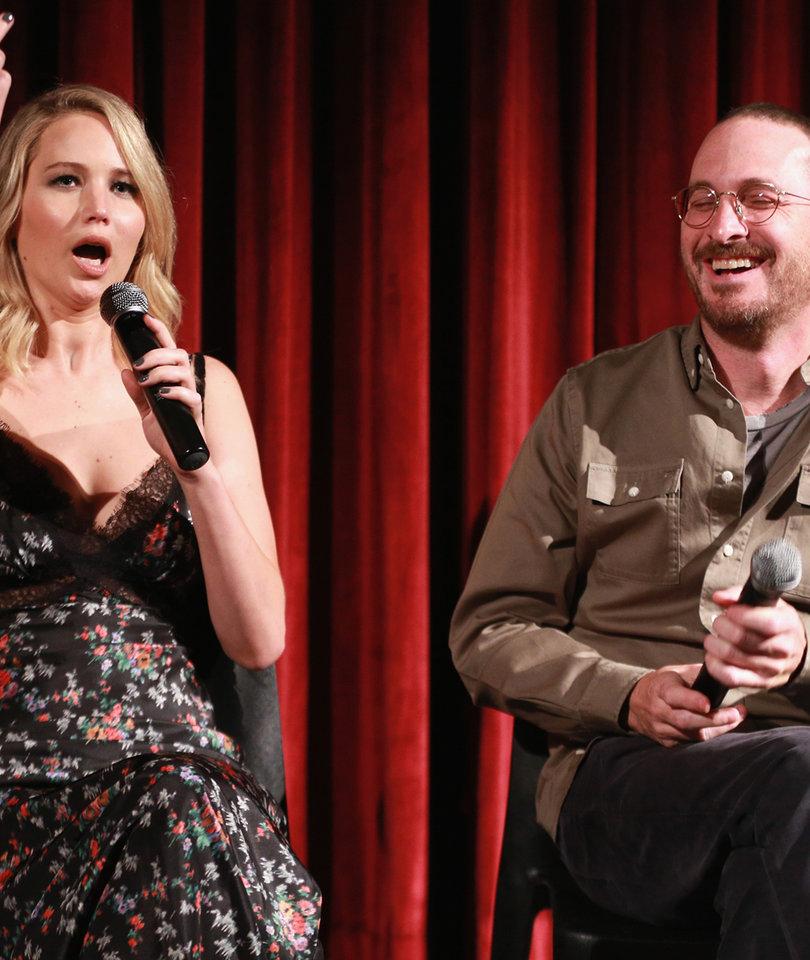 Jennifer Lawrence Got Feisty at 'mother!' Screening