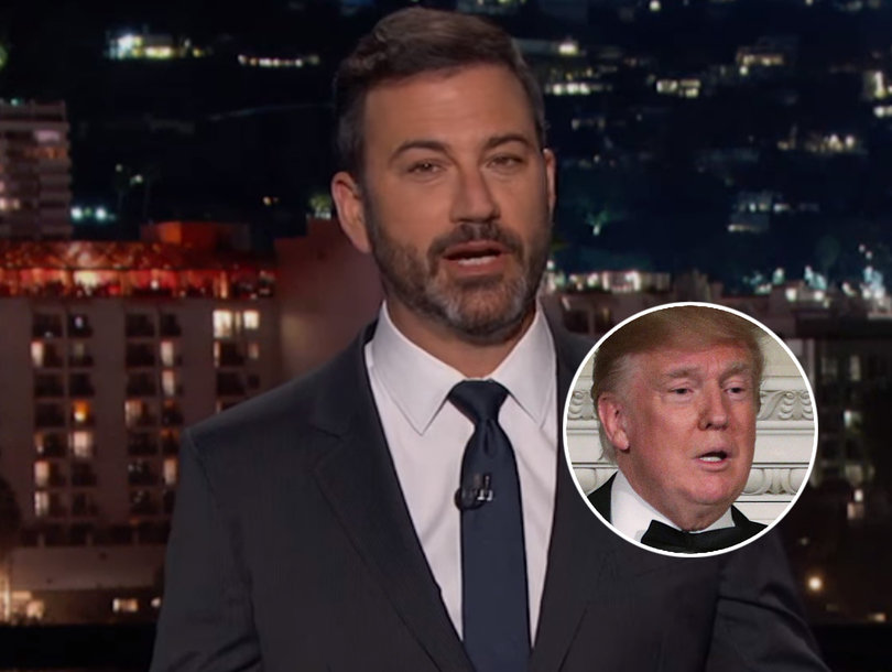 Jimmy Kimmel Targets Trump In Brutal Round 3 of His Health Care Battle