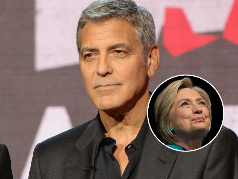 This Is Why George Clooney Thinks Hillary Clinton Lost the Election