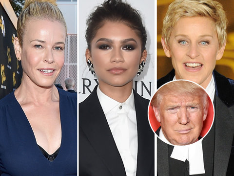 Hollywood Stars #TakeTheKnee In Support of NFL Protests Against Donald Trump