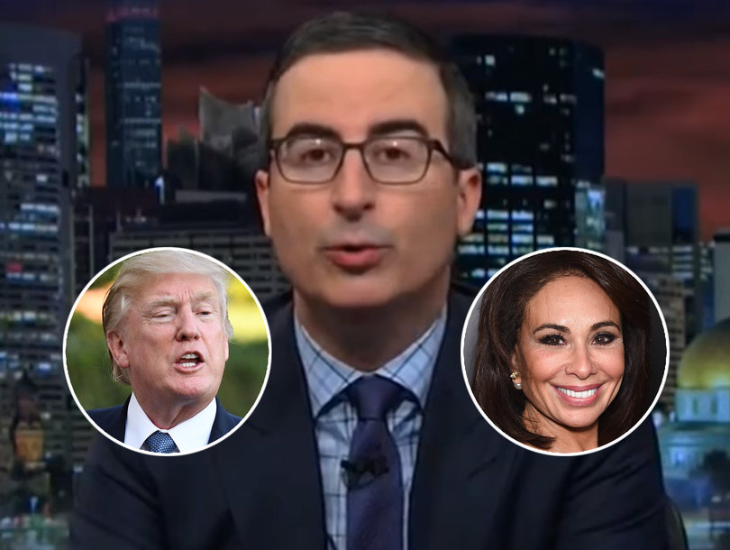 John Oliver Tears Into Trump, Fox News' Jeanine Pirro for Trashing Kneeling NFL Players