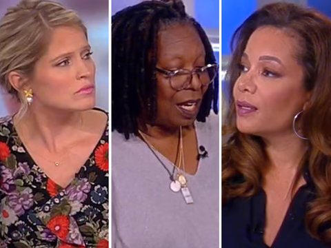'The View' Perfectly Sums Up Why Outrage Over NFL Anthem Kneeling Is Misplaced