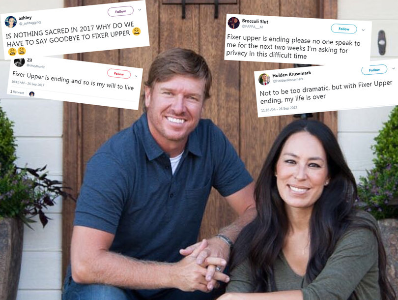 'Fixer Upper' Fans Are Having Emotional Breakdowns on Twitter Over Cancellation